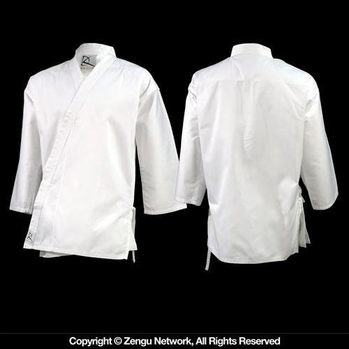 KD Elite Lightweight Classic White Karate Jacket